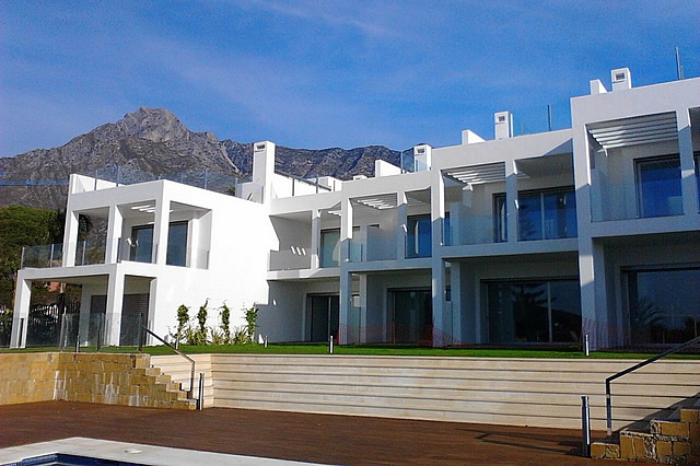34112 - Contemporary townhouses with excellent views in Sierra Blanca - Golden Mile - 1.200.000