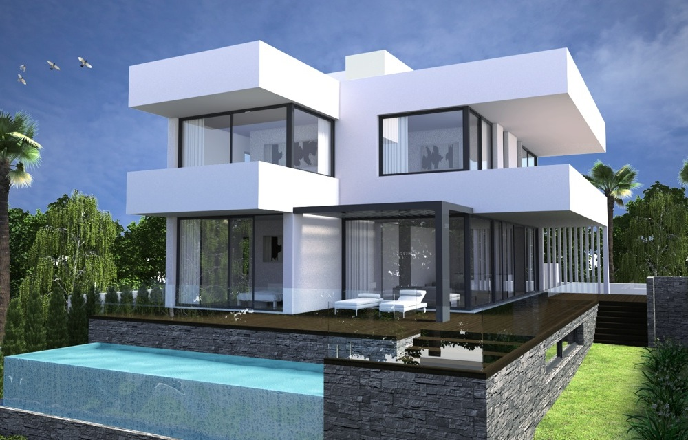 Modern Villa Wonderful Views