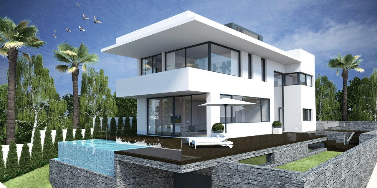 Villas modernas casas contemporaneas en venta en for Very modern houses for sale
