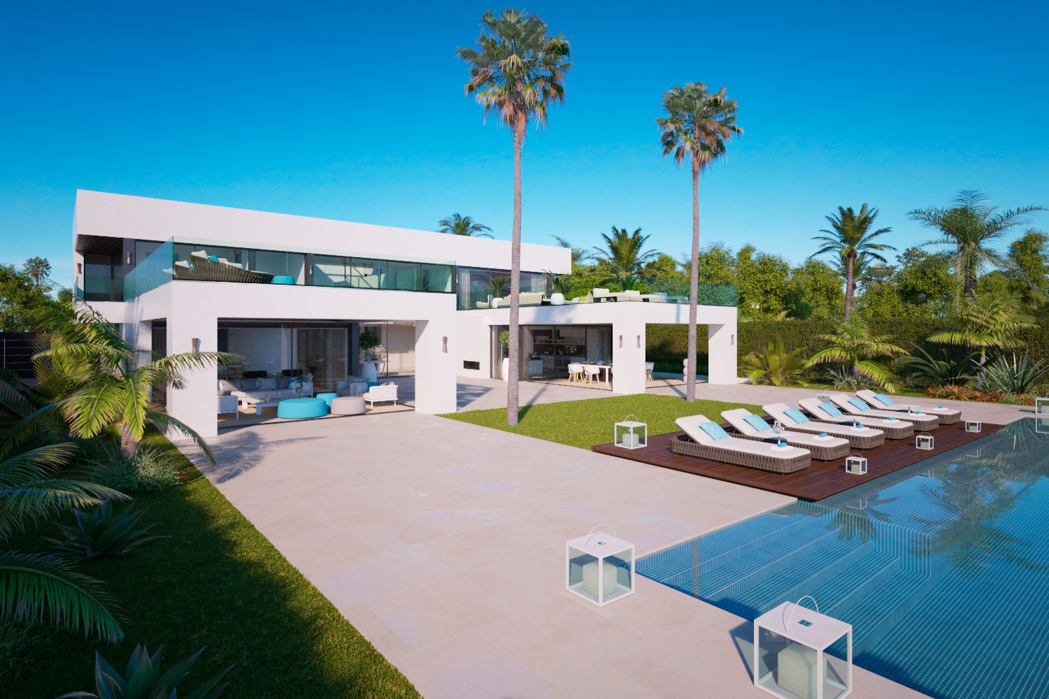 New Modern Villa in Paraiso For Sale