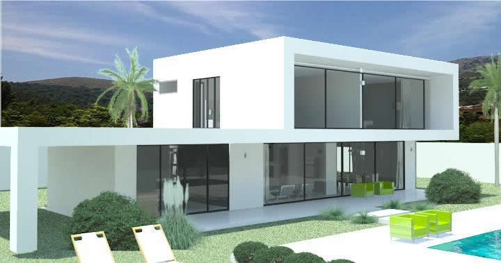 MODERN VILLAS for sale in Spain, Portugal, France, Dubai ...