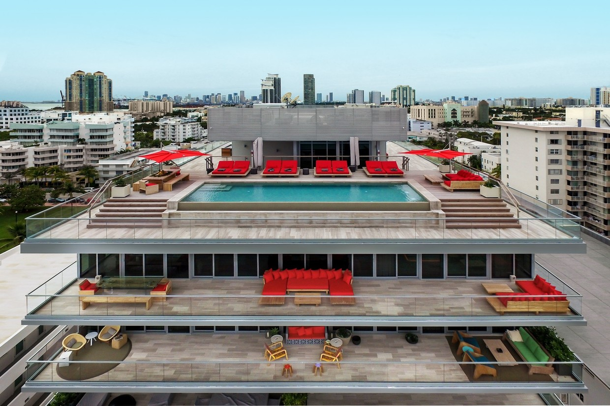 Modern Penthouse Miami Beach For Sale