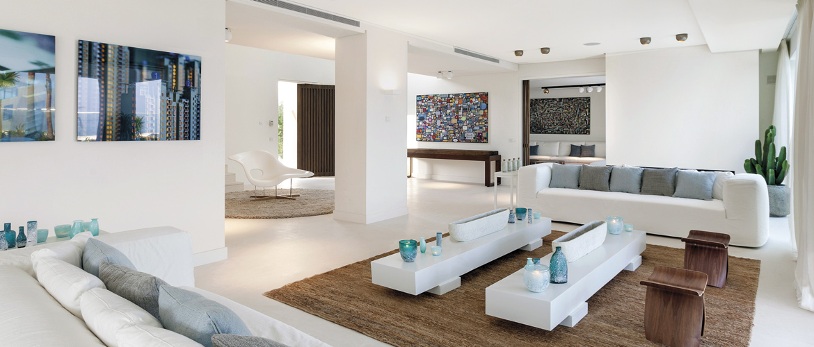 Modern villas contemporary interior design marbella - Interior design marbella ...