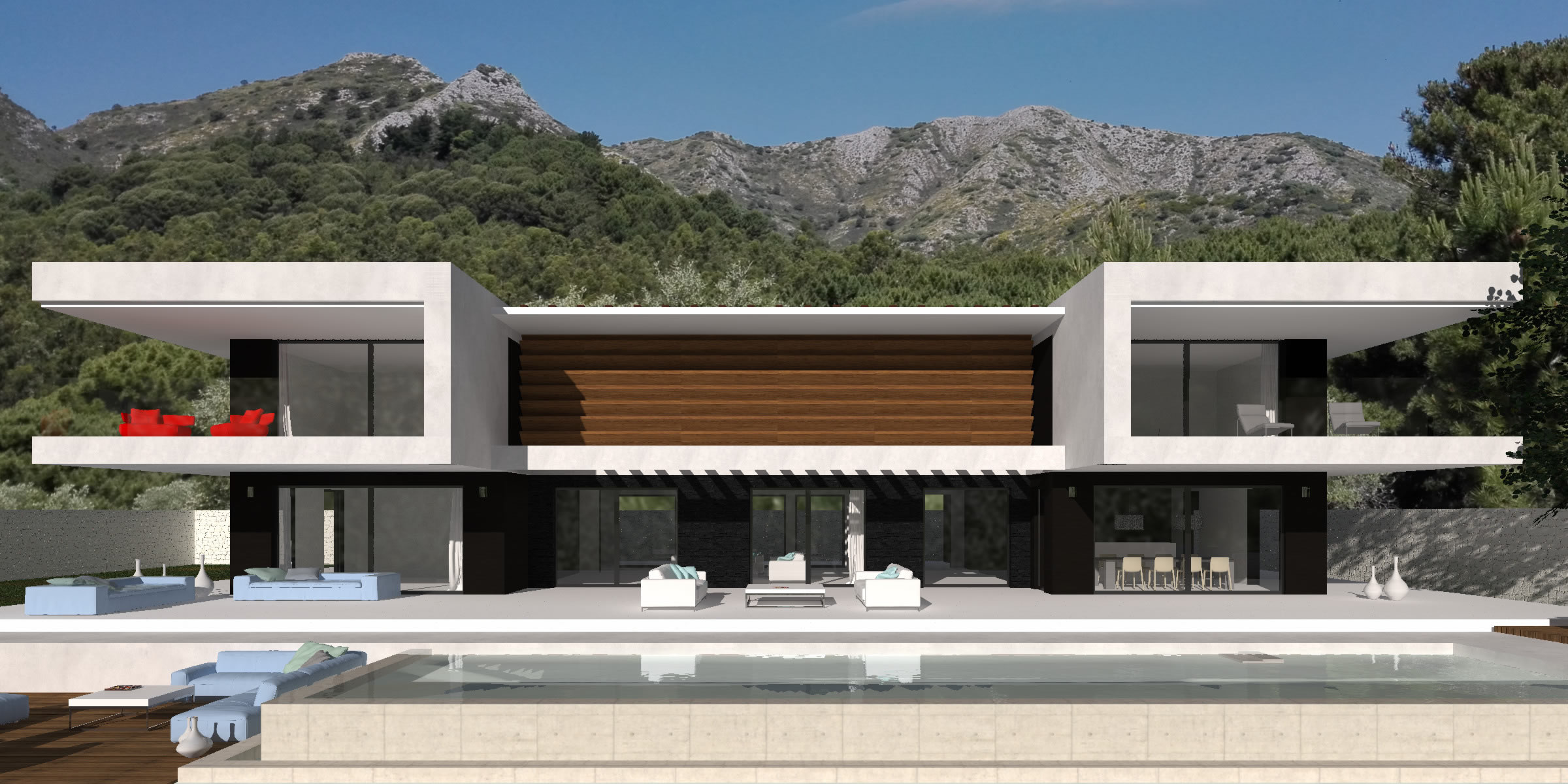 Modern Turnkey Villas in Spain France Portugal